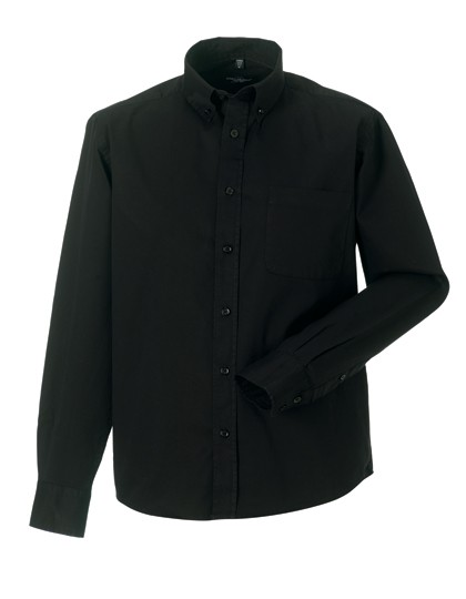 Men´s Long Sleeve Classic Twill Shirt
