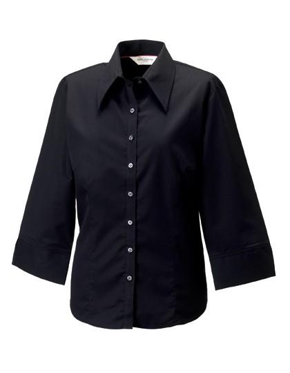Ladies´ 3/4 Sleeve Tencel® Fitted Shirt