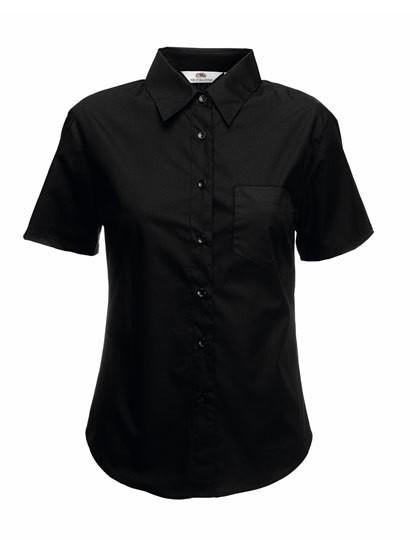 Short Sleeve Poplin Shirt Lady-Fit