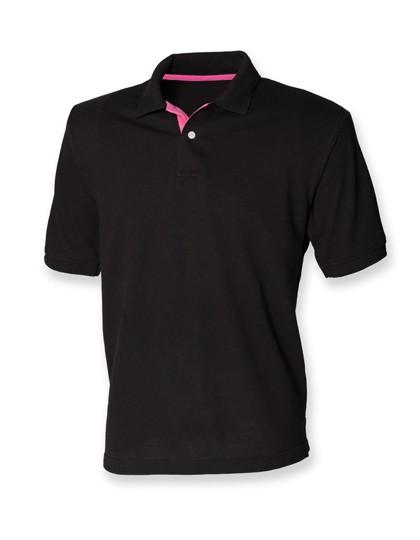 Men´s Contrast Piqué Polo Shirt 65/35