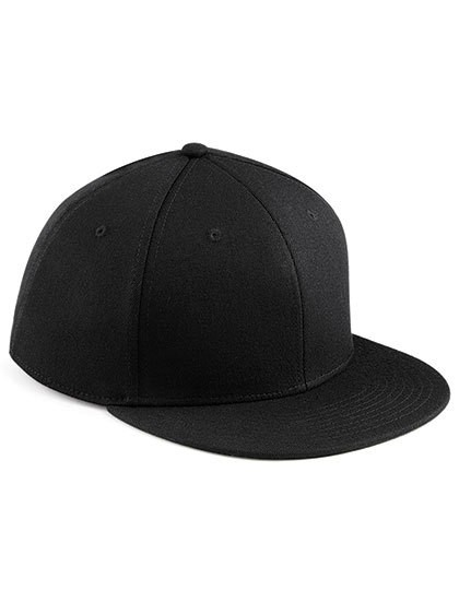 Signature Fitted Flat Peak Cap