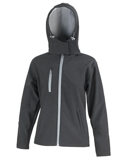 Ladies TX Performance Hooded Soft Shell Jacket
