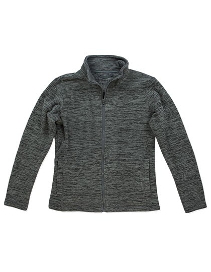 Active Melange Fleece Jacket for women