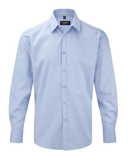 Men´s Long Sleeve Herringbone Shirt