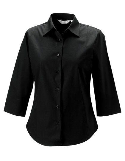 Ladies´ 3/4 Sleeve Fitted Shirt