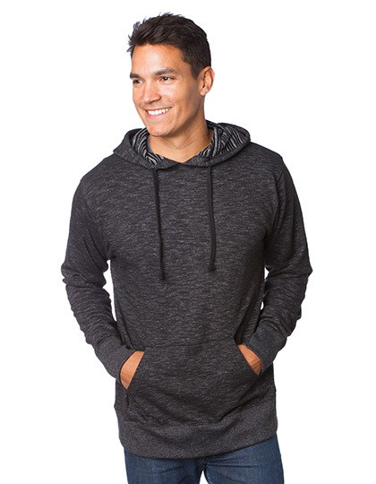 Men´s Midweight Baja Stripe French Terry Hooded Pullover