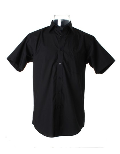 Business Poplin Shirt Short Sleeve