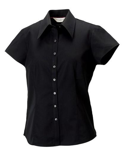 Ladies´ Cap Sleeve Tencel® Fitted Shirt