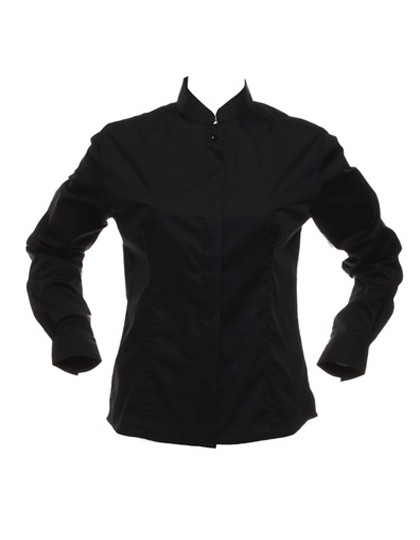 Women´s Bar Shirt Mandarin Collar Longsleeve