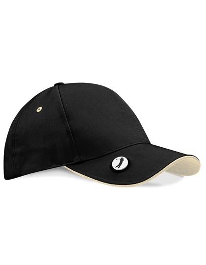 Pro-Style Ball Mark Golf Cap