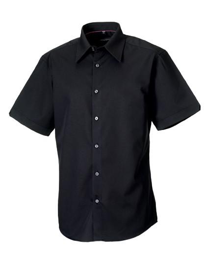 Men´s Short Sleeve Tencel® Fitted Shirt