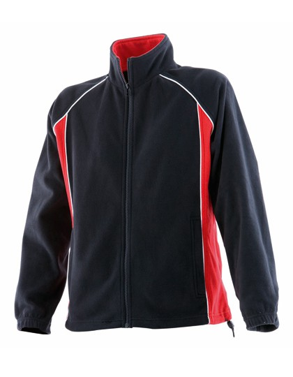 Ladies Piped Microfleece